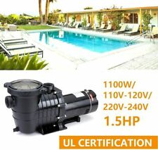 In/Above Ground Swimming 1.5Hp Pool Pump Motor w/Strainer Generic Hayward Us