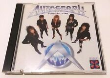 AUTOGRAPH - LOUD AND CLEAR CD - FIRST PRESS 1987 - MADE IN JAPAN