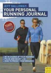 Jeff Galloway - Your Personal Running Journal by Jeff Galloway , Paperback