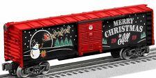 Lionel 2019 Christmas Cars 1928490 Christmas Boxcar