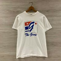Vintage 90s The Game Made In USA T-Shirt Size Large