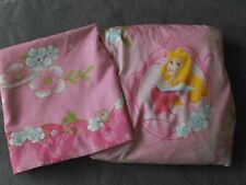 Disney Princesses Twin Pink Flat and Fitted Bed Sheets ~ Cinderella and Aurora