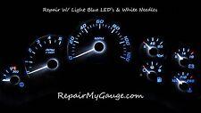 Chevy Silverado Speedometer Instrument Cluster Repair w/light blue Leds, white