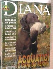 DIANA 24 2003 Acquatici e cani da ferma Cinghiale Anagrafe Cervi Cocker Scozia