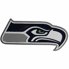 NEW SEATTLE SEAHAWKS TEAM LOGO - NEW NFL DIE CUT 3D LOGO LARGE TRUCK HITCH COVER