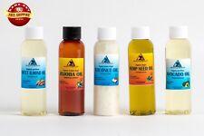 30% OFF LOT by H&B Oils Center ORGANIC ALMOND JOJOBA COCONUT HEMP AVOCADO 10 OZ