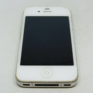 Apple iPhone 4 A1349 16GB Untested For Parts or Repairs Only