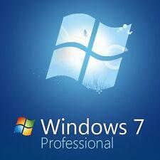 Windows 7 Professional 64 bit Full Install DVD  & Key