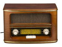Retro Holz Radio Nostalgie Design Küchenradio FM/LW Retroradio Nostalgieradio
