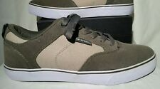 New Airspeed Low Skateboarding Shoes Size 8 Gray/Tan/White Less Sleep More Skate