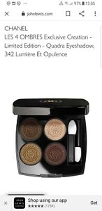 CHANEL LES 4 OMBRES 342 Lumiere Et Opulence Eyeshadow Pallete