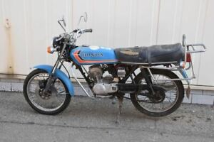 a74t09- Oldtimer Honda CB 50 J Mokick Moped 1970er Jahre