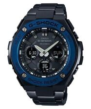 Gst-s110bd-1a2 Gsts110bd Casio Solar G-shock Male Steel Sports Watch