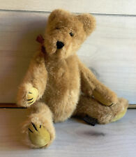 "A82 Boyds Bears Jointed Bubba Teddy Plush! 12"" Stuffed Toy Lovey"