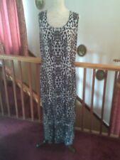 Women's Maxi Dress, Animal Print Maxi Dress, Unworn Condition