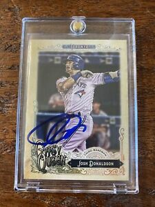 Josh Donaldson Signed Gypsy Queen Card Psa Dna Coa Autographed Blue Jays