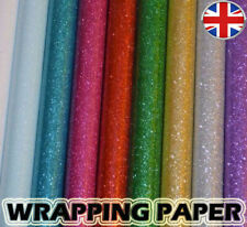Glitter sparkle gift wrapping PAPERS perfect for Christmas- 69x49cm - Xmas wrap