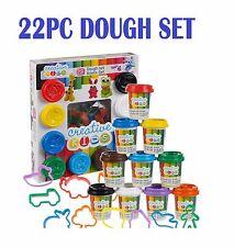 22PC Play Dough vasche forme Hobby Craft Gift Set modellazione argilla plastilina Toys