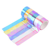 Rhythmic Gymnastics Decoration Holographic Prismatic Glitter Tape Hoops Stick NT
