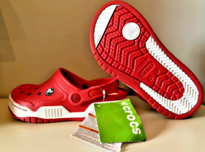 (NEW) CROCS Front Court Clog Red size 6 Women