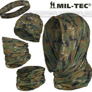 HEADGEAR MILTEC Scaldacollo Sciarpa Cappello Passamontagna Multi Uso Marpat Wood