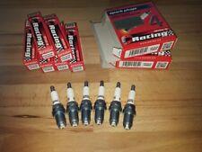 6x Bmw 325 2.5i E36,E46 y1990-2007 = Brisk Performance LGS Silver Spark Plugs