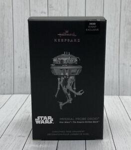 Star Wars Imperial Probe Droid Hallmark Metal Keepsake Ornament NYCC Lim 1500