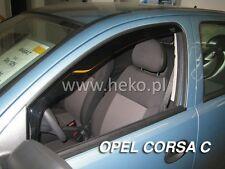 HEKO Windabweiser OPEL CORSA C 5-türer 2000-2006 2-tlg Regenabweiser 25345