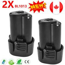 2× 10.8V 1.5AH Li-ion Battery for Makita BL1013 BL1014 194550-6 195332-9 CA