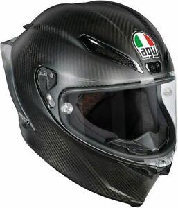 AGV Pista GP R Solid PLK Matt Carbon Full Face Racing Motorcycle Helmet XL