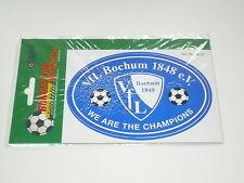 VfL Bochum 1848 e.V.  - Aufkleber / Sticker - We are the Champions (blau)