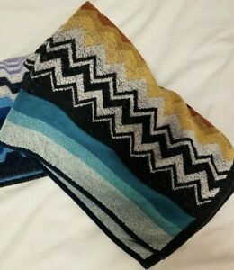MISSONI HOME bath towels for throws bedlinen decor versace pucci polo lauren