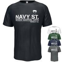 Navy St T-Shirt Vintage Inspired Freedom MMA Fight TV Birthday Dad Gift S-5XL