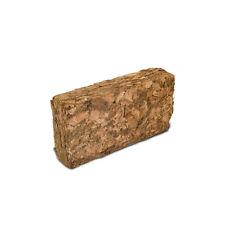 Grober Kokosziegel ca. 500 g - Bodengrund für Terrarien , Humusziegel , grob