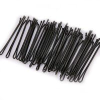 60Pcs Invisible Hair Clips Flat Hairpins Top Bobby Pins Grip Salon Barrette 40MM