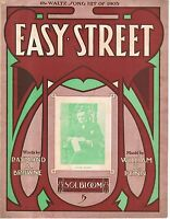 1905 Easy Street by Raymond a Browne and William H Penn showing Jules Kussel