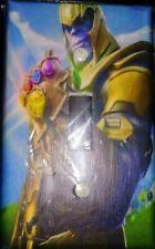 Custom Handmade Thanos Single Toggle Light Switch Cover