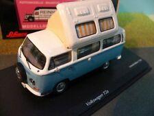 1/43 Schuco VW T2a Westfalia Camper m.offenem Dach blau-weiß 450348600