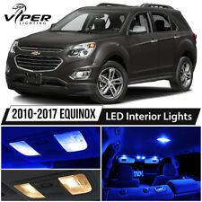 2010-2017 Chevy Equinox Blue LED Interior Lights Kit Package