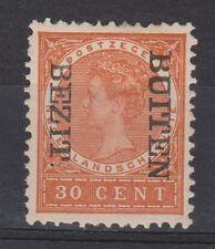 Nederlands Indie Netherlands Indies 95f MLH CANCEL BUITEN BEZIT kopstaand 1908