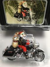 "1997 Harley Davidson - Santa Ornament ""King of the Road"" Item #G80001"