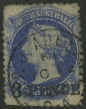 South Australia   1876-84   Scott # 67a   USED