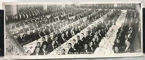 Antique 1950 Kappa Alpha PSI 40th Grand Chapter Banquet Photo Kansas City MO
