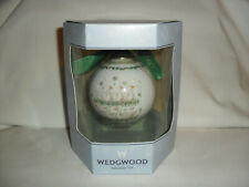 Wedgwood Ornament 12 Days Of Christmas 6 Geese A Laying 6Th Day ~ New In Box Lit