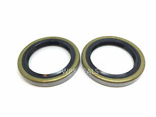 Qty 2 Trailer Seals 168233TB for 3500# 1.688'' x 2.332'' Double Lip #84 Spindle