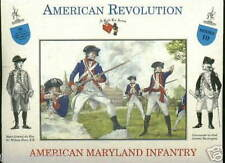 A CALL TO ARMS 10 MARYLAND AMERICAN INFANTRY - AWI - 1/32 SCALE. REVOLUTION
