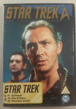 Star trek original series dvd 23 episodes 67-69 - star trek original series dvd