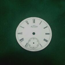 Waltham 18s Model 1883 Pocket Watch Face  Original Parts Watchmaking Tools