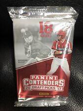 2017 Panini Contenders Draft Picks Baseball Hobby Pack