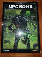 Warhammer 40,000 Codex - Necrons GW 2002
